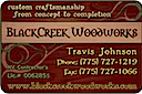 Blackcreek advertisement - magnet for car