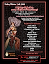 Bellydance Performance Event flyer